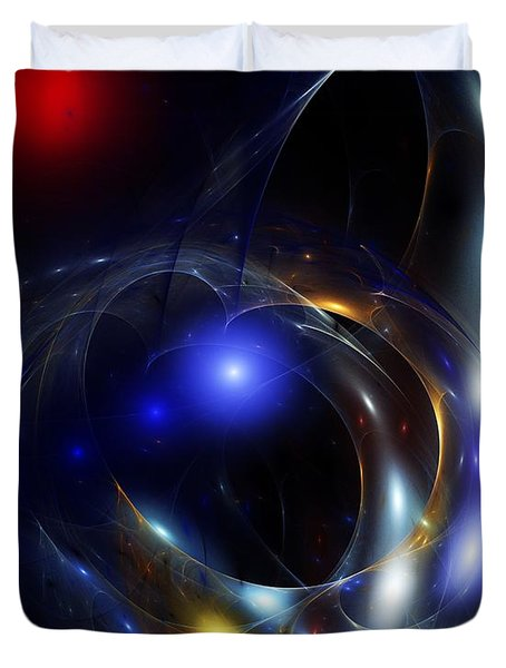 Dark Matter Revealed Duvet Cover