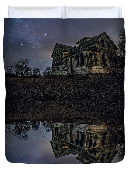 Dark Mirror Duvet Cover