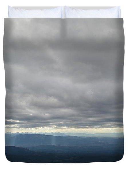 Dark Mountains Duvet Cover