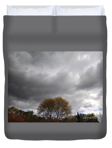 Dark October Sky Duvet Cover