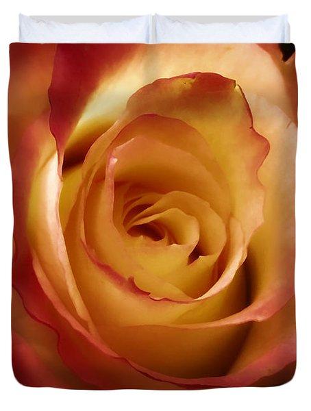 Dark Rose Duvet Cover