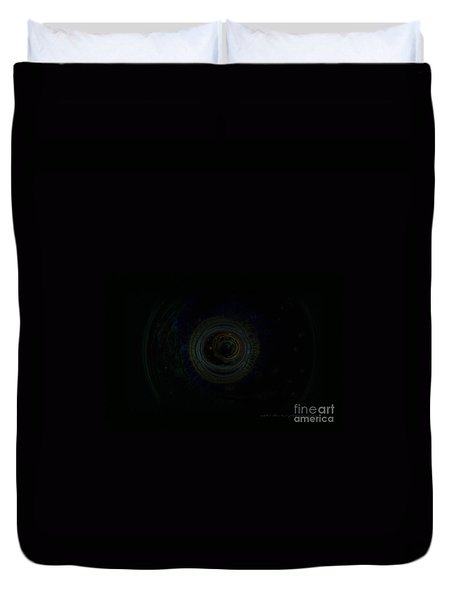 Dark Spaces Duvet Cover by Vicki Ferrari