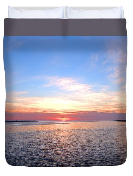 Dark Sunrise I I Duvet Cover