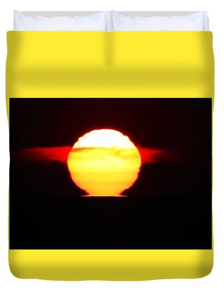 Dark Sunrise Duvet Cover by Kathy Long