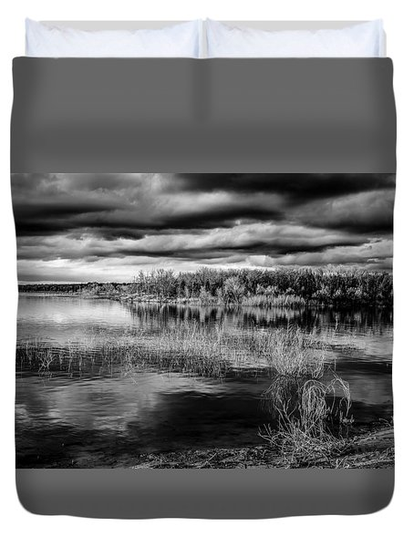 Dark Tones Duvet Cover by Doug Long