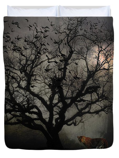 Dark Valley Duvet Cover