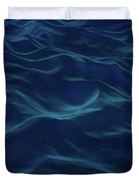 Dark Waves Duvet Cover