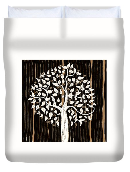Dark Winter Duvet Cover