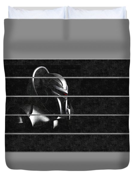 Dark Zylon Duvet Cover by Mario Carini