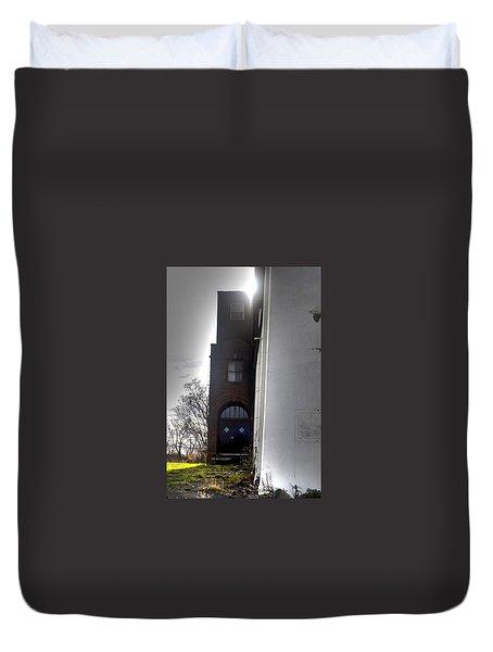 Darkened Door Duvet Cover
