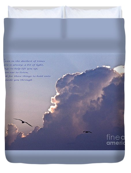 Darkest Of Times Duvet Cover