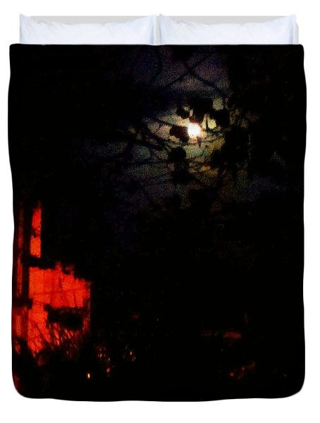 Darkness Duvet Cover