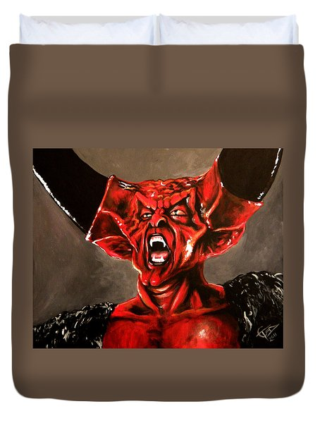 Darkness Duvet Cover by Tom Carlton