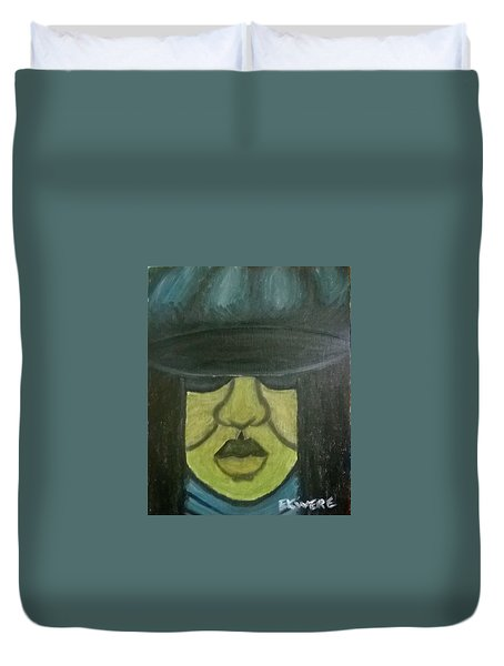 Darla's Day Out Duvet Cover