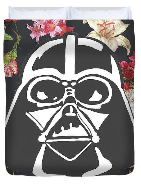 Darth Floral Duvet Cover