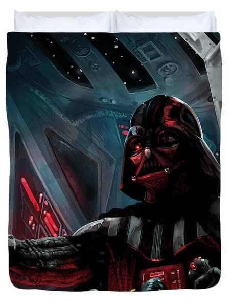 Darth Vader, Imperial Ace Duvet Cover