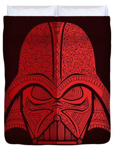Darth Vader - Star Wars Art - Red 02 Duvet Cover