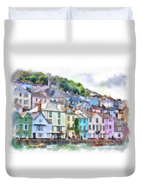 Dartmouth Devon England Duvet Cover