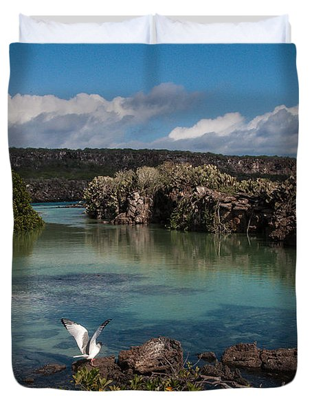 Darwin Bay     Genovesa Island      Galapagos Islands Duvet Cover