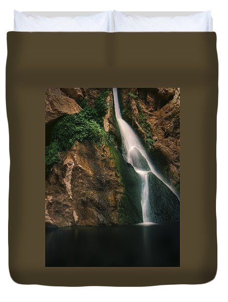 Darwin Falls - Death Valley Duvet Cover