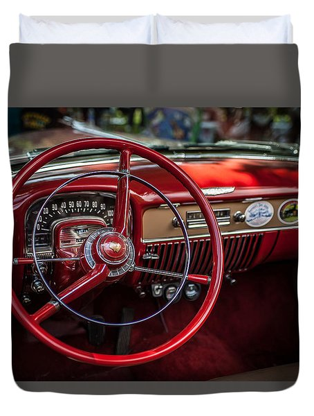 Dash Of Class Duvet Cover by Ray Congrove