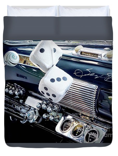 Dashboard Duvet Cover