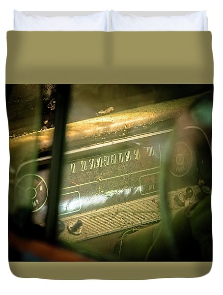 Dashboard Glow Duvet Cover