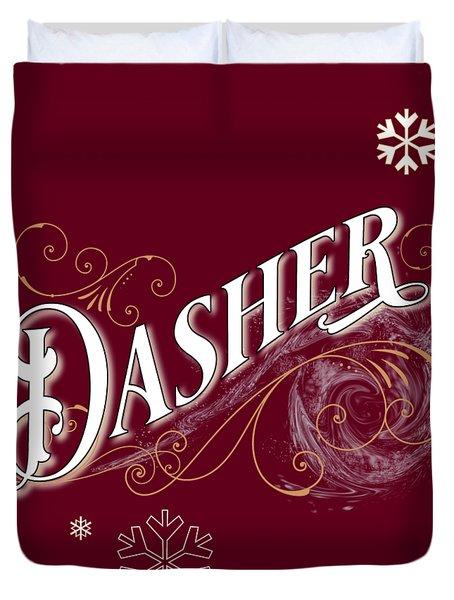 Dasher Duvet Cover