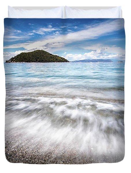Dasia Island Duvet Cover by Evgeni Dinev
