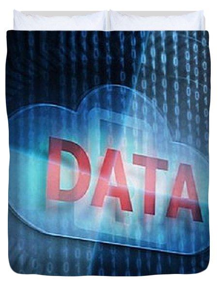 Data Storage Technologies Duvet Cover