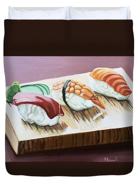 Date Night Duvet Cover