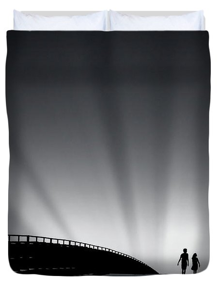 Date With Destiny Duvet Cover