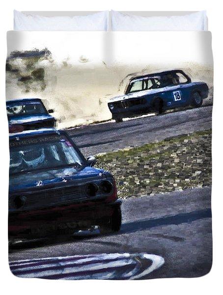 Datsun 510 Duvet Cover