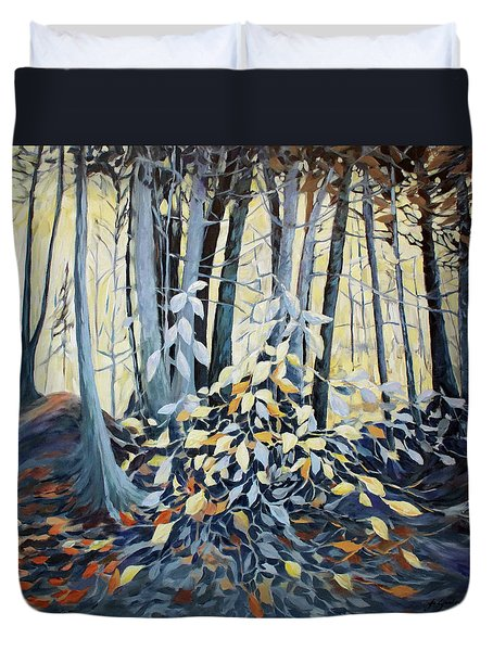 Natures Dance Duvet Cover by Joanne Smoley
