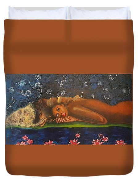 Daughter Of The Cosmos Duvet Cover