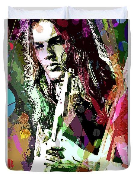 Dave Gilmour Dark Side Duvet Cover