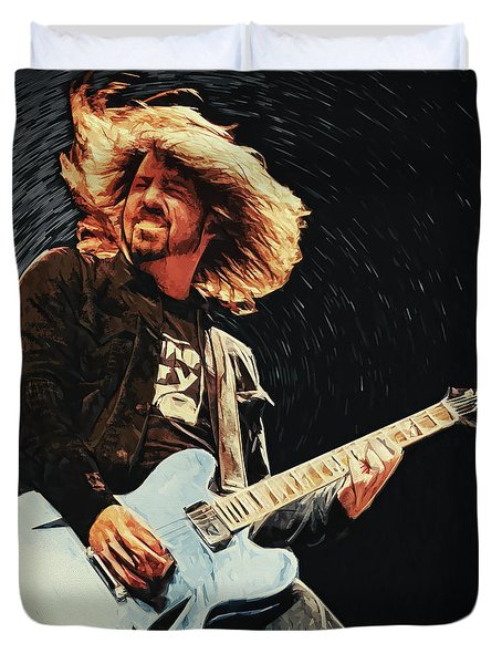Dave Grohl Duvet Cover