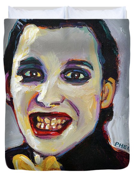 Dave Vanian Of The Damned Duvet Cover