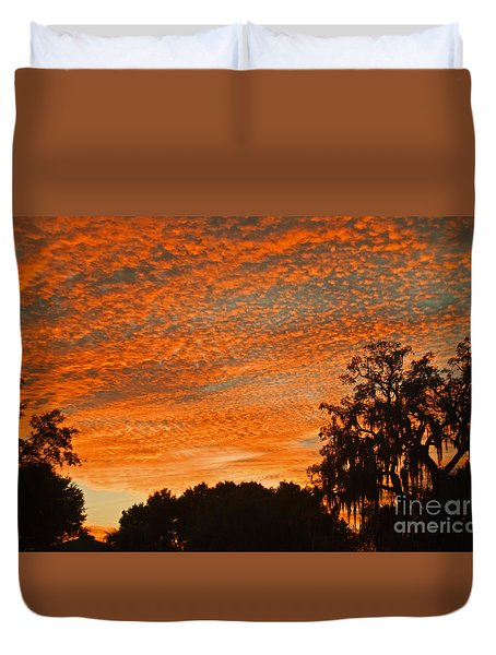 Davenport At Dusk Duvet Cover