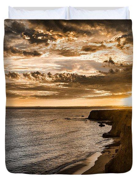 Davenport Cliffs Duvet Cover