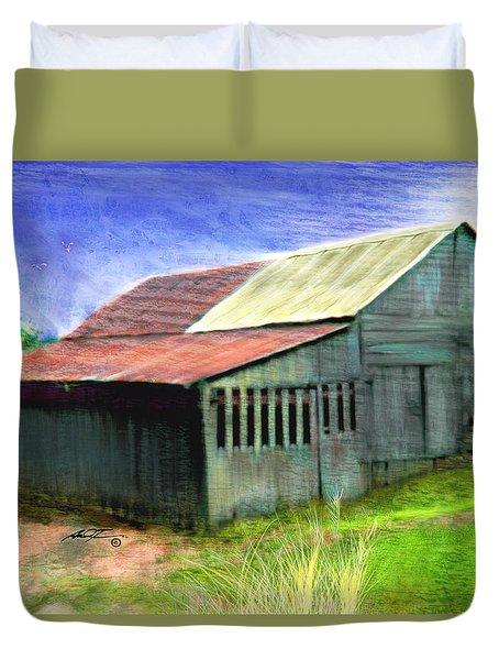Dave's Barn Duvet Cover