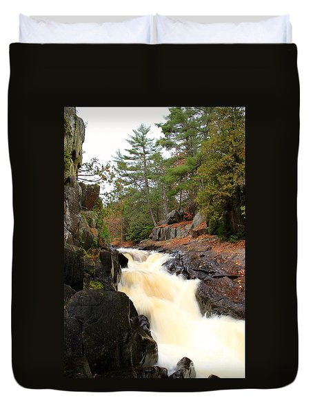 Dave's Falls #7277 Duvet Cover