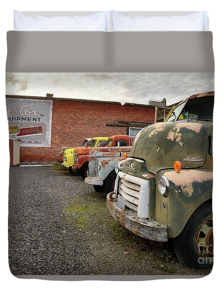 Daves Salvage Duvet Cover