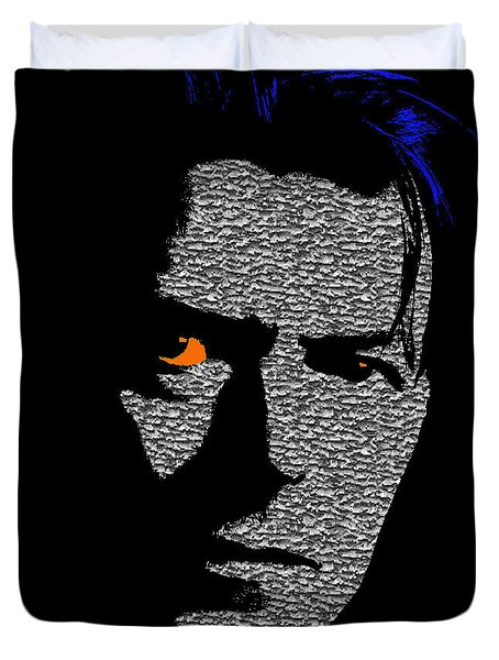 David Bowie 1 Duvet Cover