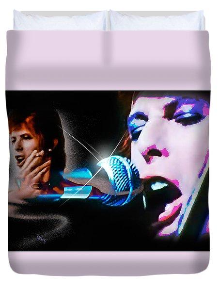 David Bowie  - Jean Genie Duvet Cover