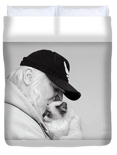 David Bw Duvet Cover