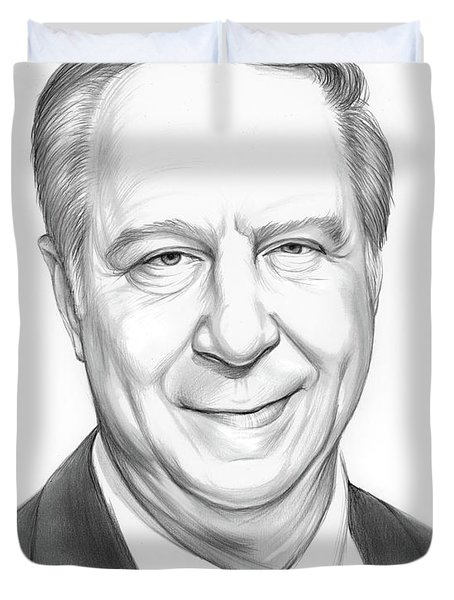 David Gergen Duvet Cover