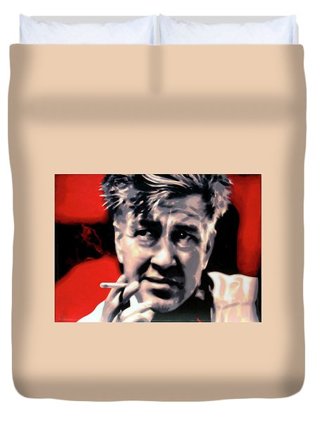 David Lynch Duvet Cover