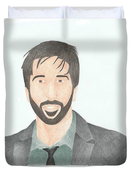 David Schwimmer Duvet Cover