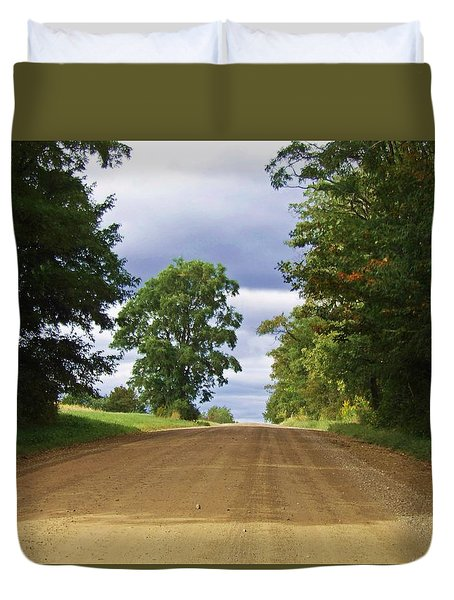 Davis Hill Rd. Duvet Cover